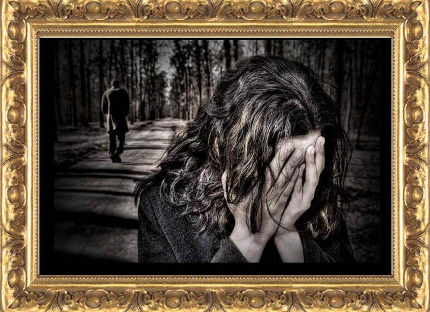 картинки про расставания со слезами
