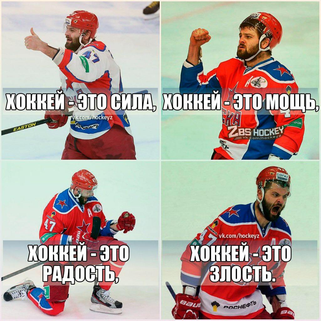 Смешные картинки с надписями хоккей