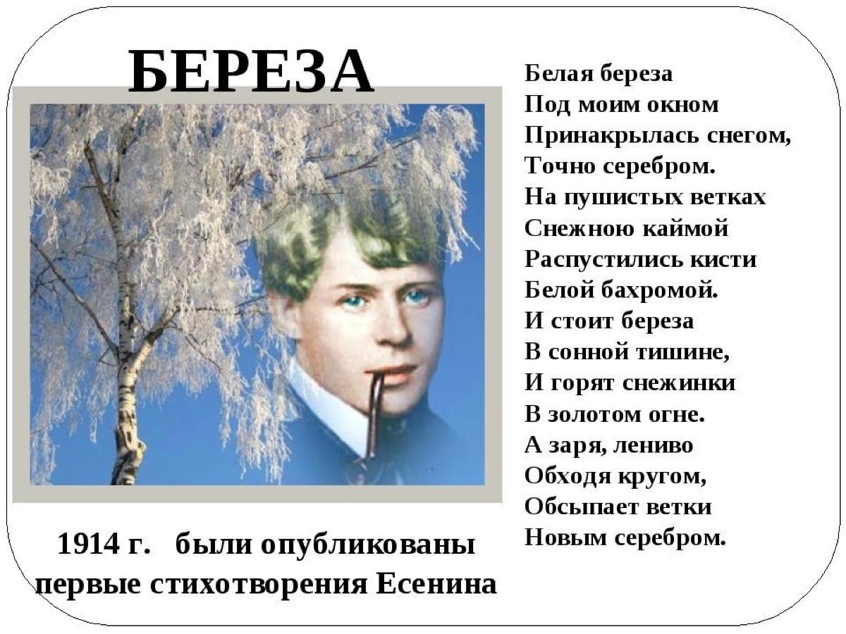 стихи есенина на открытке обои претензией